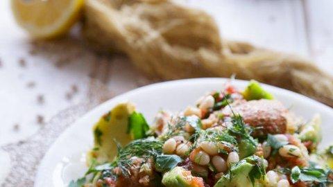 haricot bean and barley rusk