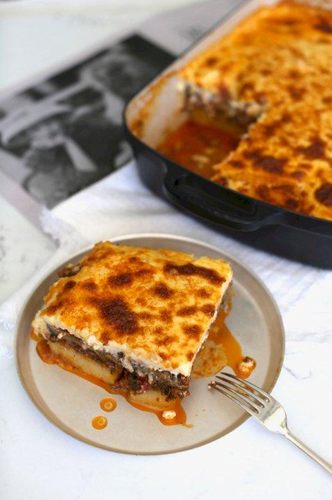 traditional moussaka