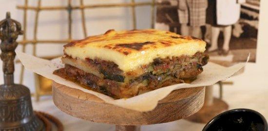 vegetarian mousaka