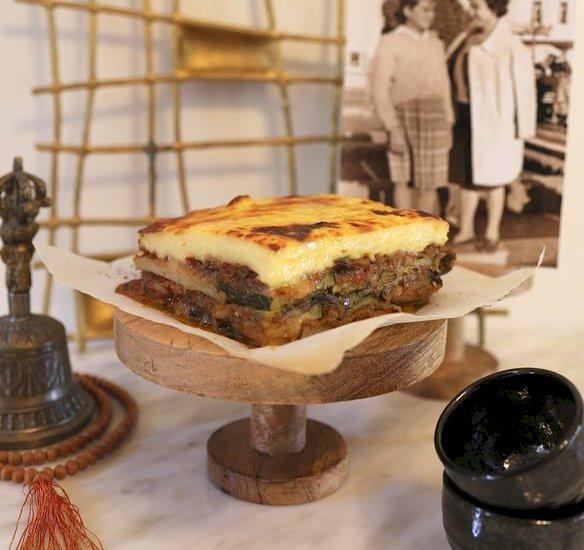 Christina's Vegetarian Moussaka | KALI OREXI