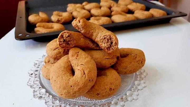 Κουλουράκια Κανέλας Cinnamon Cookies