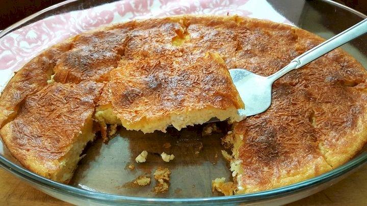 Εύκολη τυρόπιτα χωρίς φύλλο! Easy cheese pie!