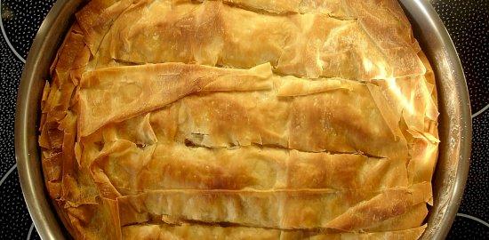 πρασόπιτα με φύλλο κρούστας1