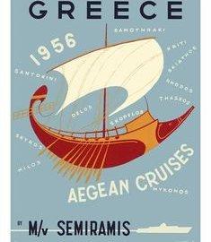 aegean cruises 1956