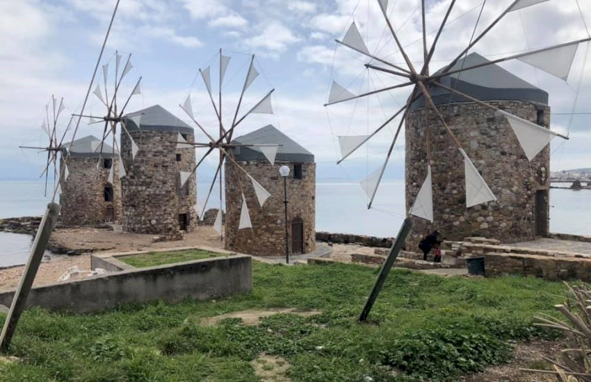 Chios wind mills