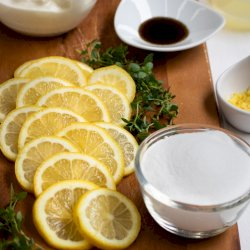 Lemon Thyme Yoghurt Cake