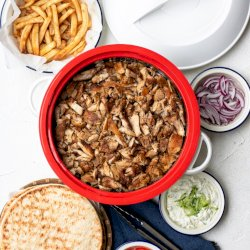 QUICK AND EASY GREEK CHICKEN GYRO