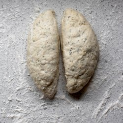 HALLOUMI BREAD ROLLS WITH YOGHURT